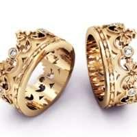 Обручальные кольца пример 2