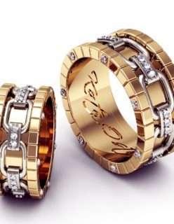 Ювелирные украшения на свадьбу от ювелирной компании SEREBRO ПРИМЕР