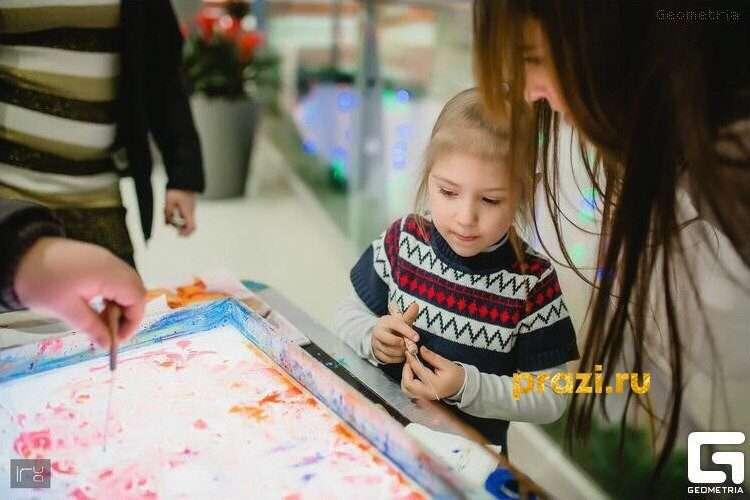 ЭБРУ- это уникальная техника рисования на воде. С помощью данной техники можно создавать чудесные картины, процесс завораживает, а результат потом можно перевести на бумагу! Мы можем научить Вас и Ваших детей создавать такие чудо-узоры.