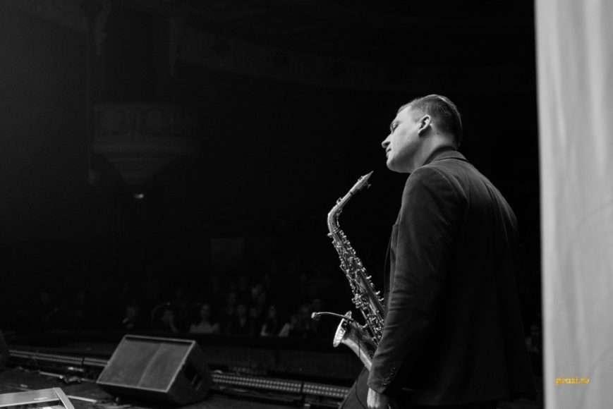 Саксофонист Илья Константинов