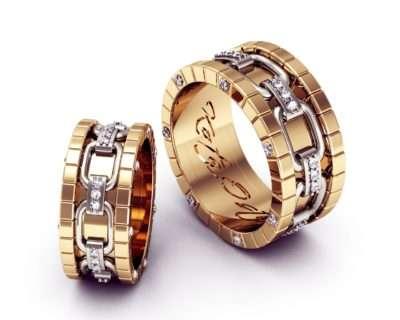 Обручальные кольца пример 1