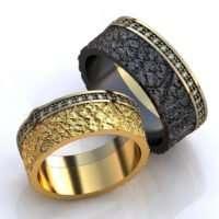 Обручальные кольца пример 3